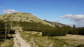 Giant mountains Stock Image