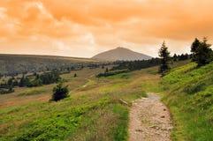 Giant mountains - Krkonose Royalty Free Stock Image
