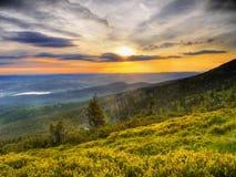 Giant Mountains Poland Stock Photography