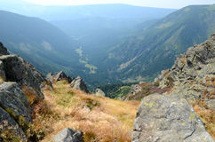Giant Mountains in Poland Stock Photography