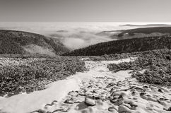 Winter Giant Mountains 2, Czech Republic Stock Image
