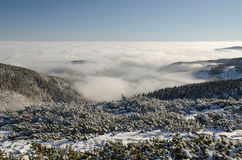 Winter Giant Mountains 3, Czech Republic Stock Photography