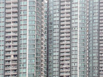 Giant multi-apartments building Royalty Free Stock Images