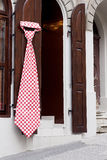 Giant necktie Stock Images