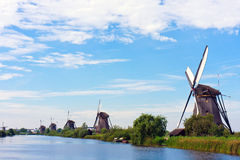 Giant of Netherlands in the row. Row of the giant of Netherlands Royalty Free Stock Photography
