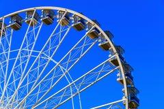Giant Observation Wheel in Winter Wonderland Royalty Free Stock Image