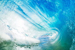 A Giant ocean wave tube Royalty Free Stock Photography