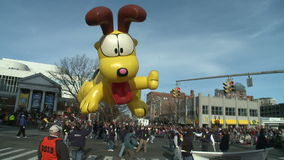 Giant Odie balloon at parade