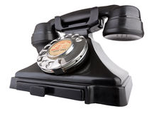 Giant Old Telephone Stock Photo