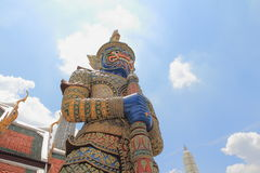 Giant Outdoor Temple. In thailand Stock Image