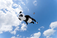 Giant panda kite Stock Photos