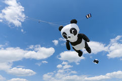 Giant panda kite Stock Photography