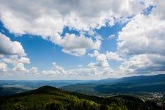 Giant panorama of mountains Royalty Free Stock Photos