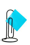 Giant paper clip Royalty Free Stock Image