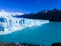 The giant Perito Moreno Glacier stock image