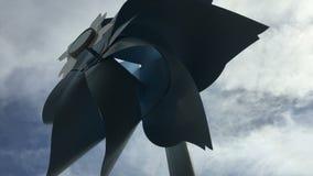 Giant pinwheel rotating stock footage