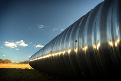 Giant pipe Stock Images