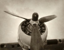 Giant propeller Stock Photography