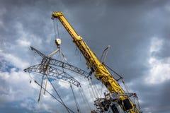 Giant Puppet Crane Stock Photos