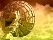 Giant radio telescop Stock Images