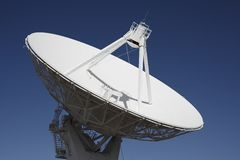 Giant Radio Telescope Dish Stock Photo
