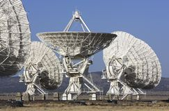 Giant Radio Telescopes Stock Photos