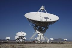 Giant Radio Telescopes Royalty Free Stock Photography