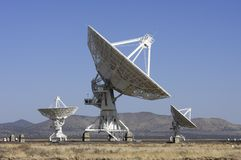 Giant Radio Telescopes Royalty Free Stock Images