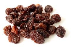 Giant Raisins. On a white background Royalty Free Stock Photo
