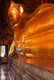 Giant Reclining Buddha Stock Images