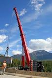 Giant Road Crane Stock Photo