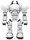 Giant robot sentinel Royalty Free Stock Photo