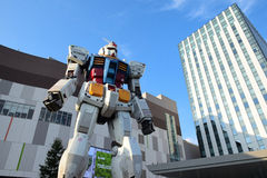 Giant Robot in Tokyo Royalty Free Stock Image