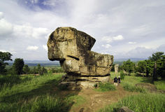Giant rock at Mor Hin Khao, Chaiyaphum province, Thailand Stock Photos