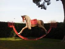 Giant Rocking Horse Royalty Free Stock Photography
