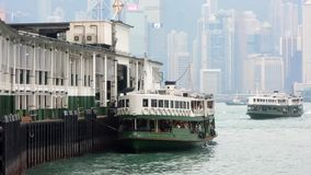 Giant Rubber Duck Visits Hong Kong. The 16m-tall public art installation, created by Dutch artist Florentijn Hofman, made a splash in Hong Kong stock footage