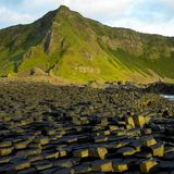 Giant's Causeway. County Antrim, Northern Ireland stock photo