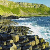 Giant's Causeway. In County Antrim, Northern Ireland Royalty Free Stock Photos