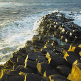 Giant's Causeway. In County Antrim, Northern Ireland stock photos