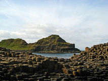 Giant's Causeway 18. The Giant's Causeway on the Northern Ireland coast Stock Photo