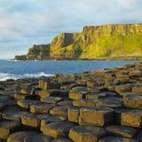 Giant's Causeway. In County Antrim, Northern Ireland Stock Photo
