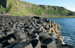 Giant's causeway. A detail of the Giant's Causeway in Northern Irelnad Royalty Free Stock Images