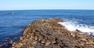Giant's Causeway. County Antrim, Northern Ireland, UNESCO World Heritage Site Stock Image