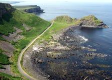 Giant's Causeway. County Antrim, Northern Ireland, UNESCO World Heritage Site Stock Photography