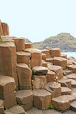 Giant's Causeway. Rock formation in County Antrim, Northern Ireland stock photo