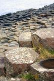 Giant's Causeway. Rock formation in County Antrim, Northern Ireland stock photography