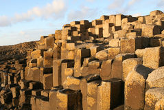 Giant's Causeway. Detail of the Giant's Causeway, Antrim, Northern Ireland Stock Images