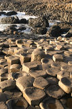 Giant's Causeway. Detail of the Giant's Causeway, County Antrim, Northern Ireland royalty free stock photography