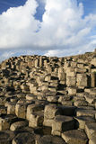 Giant's Causeway. Detail of the Giant's Causeway, Antrim, Northern Ireland royalty free stock photography
