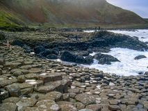 Giant`s Causeway, Antrim Co., Northern Ireland, UK. Giant`s Causeway, Antrim Co., Northern Ireland, UK, Europe. The Giant`s Causeway is an area of about 40,000 royalty free stock image